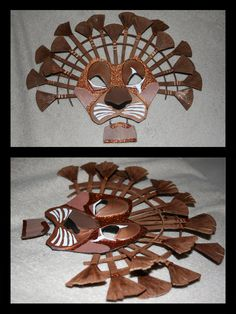 Lion Mask Attempt 1 by Theblackwolf25 on DeviantArt