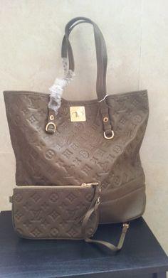 Louis Vuitton Monogram Empreinte Citadine PM M40516. real shoot. $198+FREE shipping+on-line payment