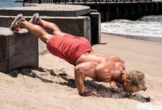 Trénink na pláži