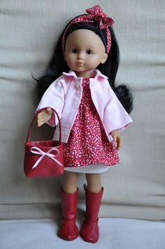Vêtements bottes et sac pour poupée 33 cm compatibles Chéries Corolle in Jeux, jouets, figurines, Poupées, vêtements, access., Autres | eBay