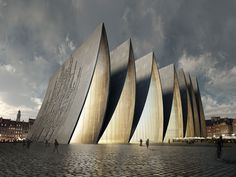 Modern Architecture: New Strasbourg Cathedral, Strasbourg, France by Axis Mundi