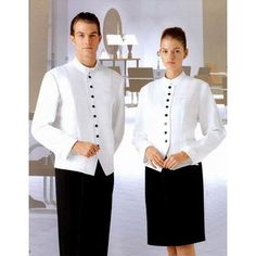 catering uniforms | Restaurant Uniform, C3-675 - Restaurant Uniforms - Rensino Clothing Co ...