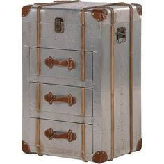 leather storage chest - Google Search