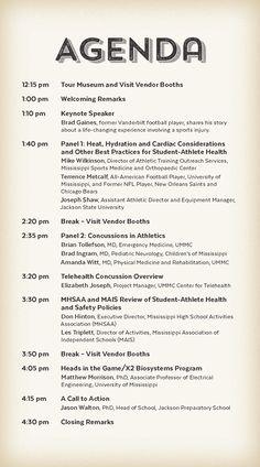 University of Mississippi Medical Center - Center for Telehealth - Mississippi Student-Athlete Health Forum 2016 Event Program (Page 2)