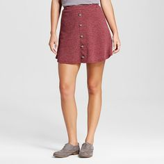 Women's Button Front Skirt - Soul Cake(Juniors') : Target