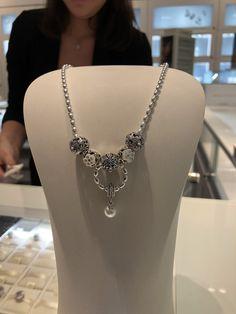 Pandora unique pearl necklace