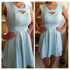 Vestido ladylike azul <3  www.missconstancia.iluria.com