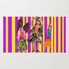 Dance Angel Rug by azima Throw Rugs, Angel, Area Rugs, Angels