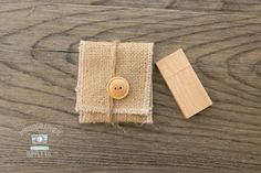 ***Set of 10 Sherpa /& Burlap USB Flash Drive Pouch Holders