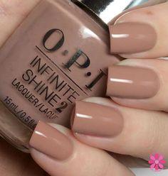 Campioni e revisione OPI Infinite Shine Opi Nail Polish Colors, Opi Nails, Shellac, Nail Manicure, Nail Colors, Pastel Pink Nails, Gel Nails At Home, Fall Acrylic Nails, Neutral Nails