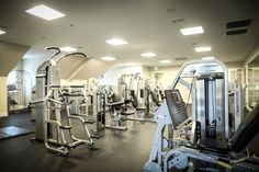 Fitness center • Governors Towne Club
