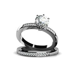 Bellera Jewelry Fashion Double 18K Platinum Plated Authentic 925 Sterling Silver Clear CZ Crystal Ring Size 8. Quantity:1 piece with 925 stamped. Material:solid 925 sterling silver with 18K platinum plated. Main CZ Crystal Size:6.5mmx1pcs;1.1mmx39pcs. High quality dazzling cubic zirconia crystals. Using the latest cutting technology smooth cutting crystal surface. All manual polishing technology. Environmental protection is not easy to fade. Nickel Free & Top Quality Rhodium Finish. It's…
