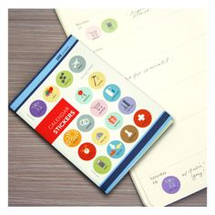 Calendar Stickers by Girl of All Work