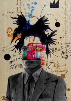 Buy Prints of samo (basquiat) ....., a Ink on Paper by Loui Jover from…