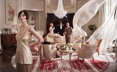 great gatsby party scene | The Great Gatsby' Could Be The Most Visually Stunning Movie In Years ...