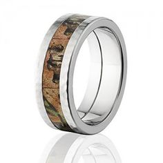 RealTree Xtra Green Official Camouflage Wedding Rings And Camo Bands
