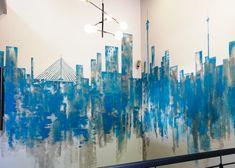 158 JAN SMUTS – Schematic Design Schematic Design, Wall Murals, Pendant Lighting, Design Elements, Signage, Modern, Projects, Painting, Art