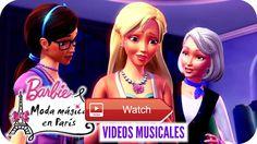 Get Your Sparkle On Video Musical Versin Pelcula Barbie Moda Mgica en Pars Es hora de cantar a ritmo de Get Your Sparkle On de la pelcula Barbie Moda Mgica en Pars LETRA Lights up Lets rock