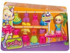 Polly Pocket Boneca e Roupinhas - Polly - Mattel com as melhores condições você encontra no Magazine Mullearder. Confira!