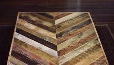 Pallet board coffee table