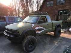 Sick lifted Chevy S10 for sale in Port Jervis NY.
