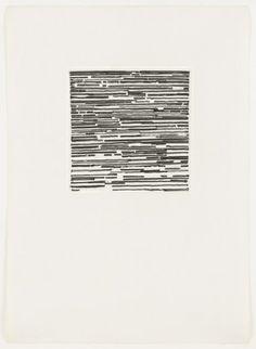 Brice Marden, Houston Drawing 3 (1973)