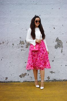 The Style Addition: PINK FLORALS X BELL SLEEVES