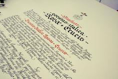 Un manifesto scritto a mano per una fondazione importante: calligrafia per i Rosa Croce. Info https://www.bellascrittura.eu/manifesto-scritto-a-mano-rosa-croce/