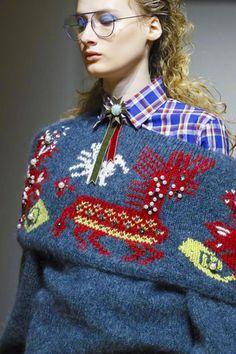 MFW   Stella Jean F/W '17   embellished tribal motifs