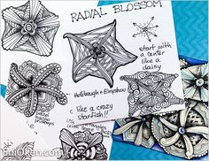 Learn how to design your own Zentangle® • enioken.com