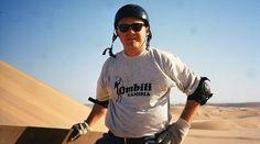 Sandboarding, sfrecciare giù dalle dune del Namib Desert