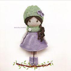 İyi geceler #amigurumi #amigurumidoll #amigurumilove #crochet #crochetlove #crochetaddict #handmade #doll #gift