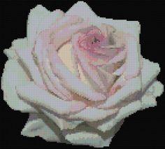 Rose 4 Free Cross Stitch Pattern