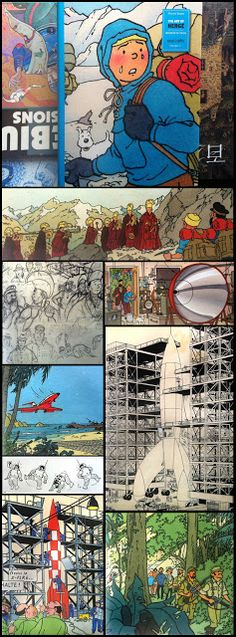 The Last Outpost: The Art of Herge: Vol 3, 1950-1983