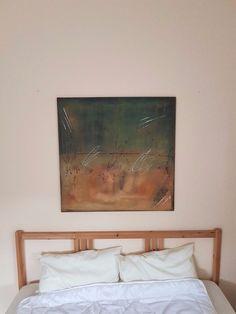 Aryl+Kunst+Acrylmalerei+Abstrakt+Leinwand+Keilrahmen+80+x+80++cm+Struktur+3