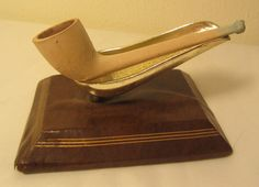 Vintage Antique Clay Brosely Southorns Straight Estate Briar Tobacco Pipe