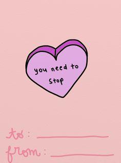 ♕pinterest/amymckeown5 My Funny Valentine, Valentines, Kawaii Love, Soft Grunge, Stickers, Just In Case, I Laughed, Sassy, Texts