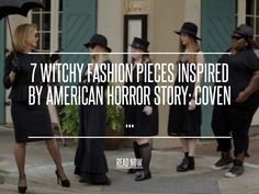UNIF – Lore Hat - 7 Witchy Fashion Pieces Inspired by American Horror Story: Coven ... [ more at http://fashion.allwomenstalk.com ] One of my favorite witchy fashion pieces is the Lore Hat by UNIF. Witches are known for their hats, after all! This hat is the perfect way to turn any of your existing ensembles into an outfit straight out of American Horror Story. Channel your inner Zoe Benson with the Lore Hat. You can order this witchy fashion... #Fashion #Inspired #Fur #Favorite #Minx…