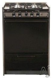 Ideal 24 inch gas range for small kitchens Summit Professional Series TM616R