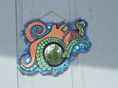 Octopus Wall Mirror with Bubble Mirrors - now only $590 plus shipping!