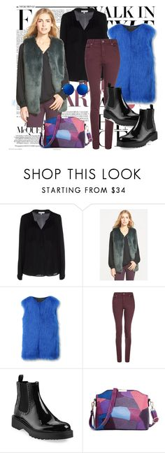 """Kick It: Chelsea Boots"" by farrahdyna ❤ liked on Polyvore featuring Nicki Minaj, Milly, Laundry by Design, WithChic, dVb Victoria Beckham, Prada, Matthew Williamson, MyStyle and chelseaboots"