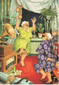 Dansende oma's