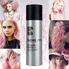 label.m Powder Pink Spray - I might need some of this!!