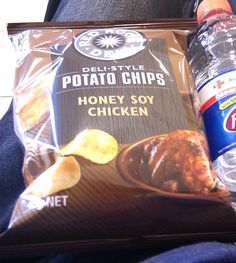 Global tour of unusual potato chip flavors, by Mental Floss -- here, honey soy chicken from Australia.