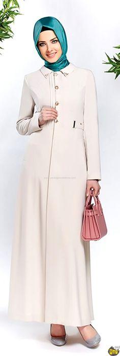Zühre Açık Renk Kot Pardesü 2015 Yaz | Armine | Aker | Kayra | Setrms