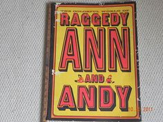Oversized Ann and Andy coloring book, 1966.