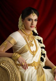 South Indian bride. Just gorgeous