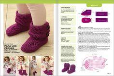 Crochet Zapatitos N°02 - 2013