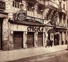 BAR DE PERICO CHICOTE EN LA GRAN VIA - 1956