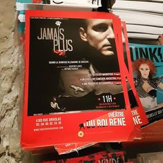 Affiche du #spectacle Jamais Plus au @theatreduroirene pendant le #festival @avignonleoff #avignon #avignonleoff